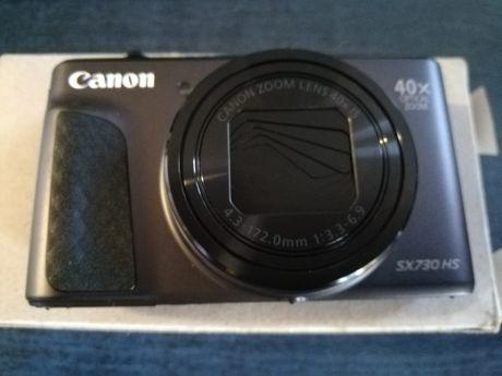 Aparat cyfrowy Canon SX730HS, 20 MPx, Zoom optyczny: 40 x, czarny Apa