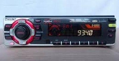 Auto-rádio KR-C5300RX + Caixa de Cd´s CDX-T70MX (MP3)