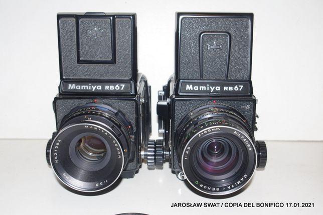 kolekcjonerska Mamiya RB 67 Pro