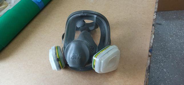 Maska ochronna 6800 maski 3m całotwarzowa 6894 , lakiernicza covid