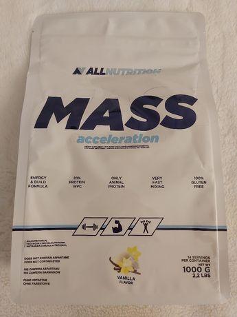 Mass Acceleration Allnutrition smak waniliowy 1 kg