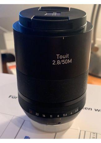 Obiektyw macro Touit 2,8/50 Zeiss z bagnetem Fujifilm XF