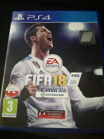 Gra Fifa 18 PS4 Playstation4