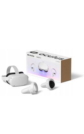 Oculus Quest 2 128GB GOGLE VR Okulary + kontrolery NOWE FV23% Wawa24h