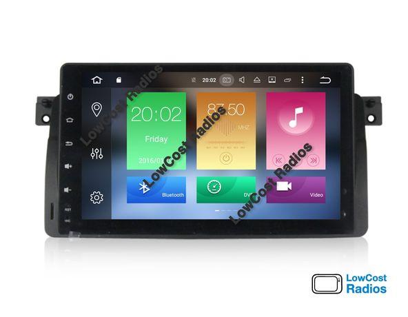 GARANTIA! Auto Rádios GPS Android 10 2Din: BMW Opel Benz VW Audi Ford