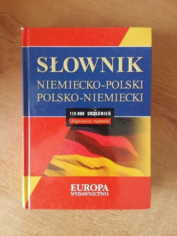 Słownik do języka niemieckiego
