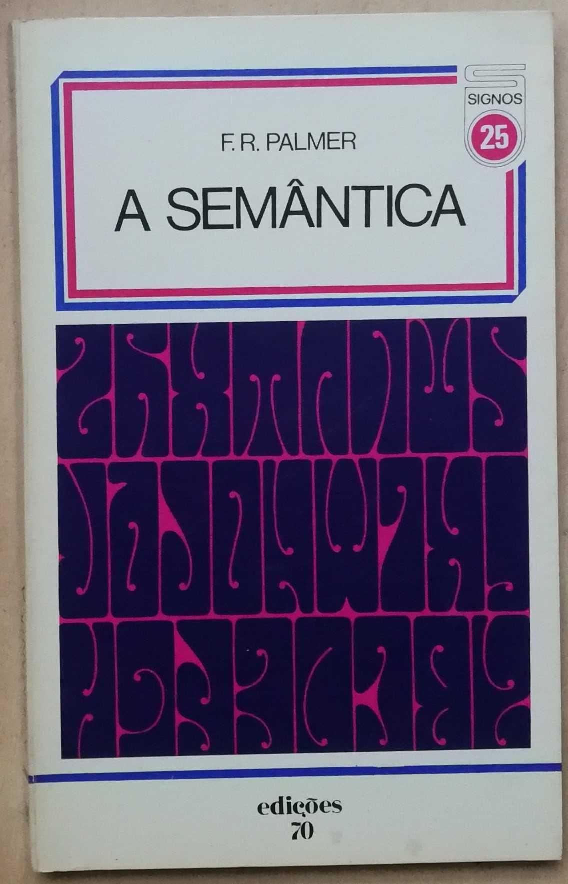 a semântica, f.r.palmer, edições 70