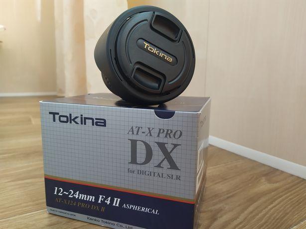 Ширик Tokina 12-24 PRO DX II для Canon | Идеальное состояние