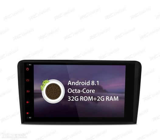 """AUTO RADIO GPS LCD TÁCTIL 8"""" 4K AUDI A3 8P ANDROID 10.0 BLUETOOTH CANBUS"""