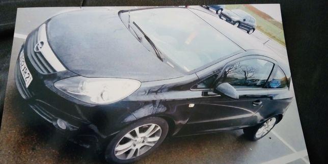 Opel corsa por peças com matricula francesa