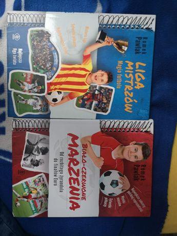 Książki: Biało-czerwone Marzenia i Liga Mistrzów