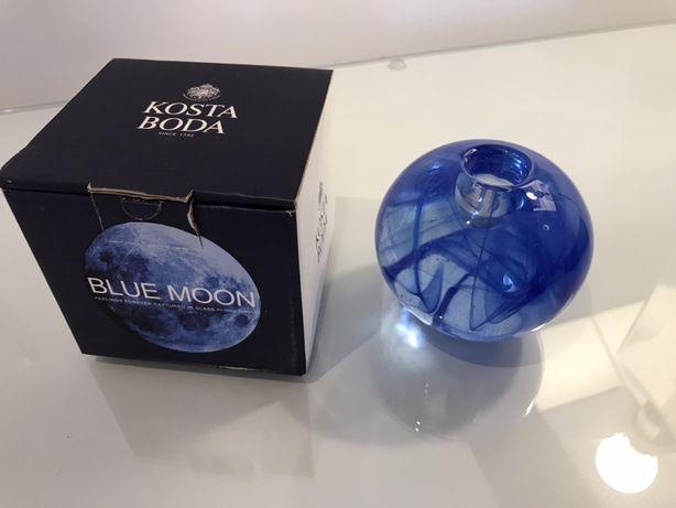 Porta velas Kosta Boda blue moon