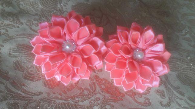 Резинки заколки обруч квіти