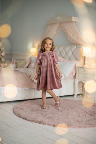 Нарядное платье, бархатное платье,новогоднее платье,выпускное платье