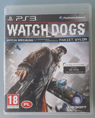 Gra ps3 Watch dogs