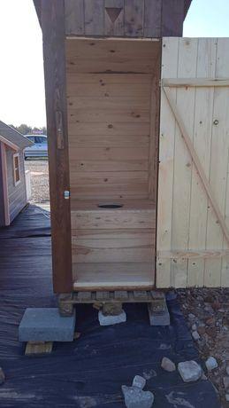 Szalet drewniany do ogrodu lub na budowę!!