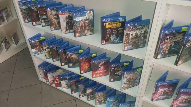 Gry na konsolę PS4 wymiana, sprzedaż