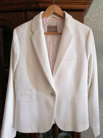 Elegancki żakiet, biały firmy Orsay