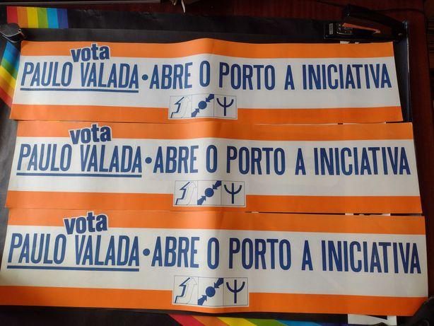Cartazes Políticos 3 unidades