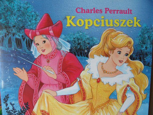 Bajka dla dzieci Kopciuszek Chartes Perrault