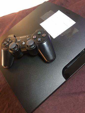 Konsola PS3 Slim 320Gb używana + pad + gry