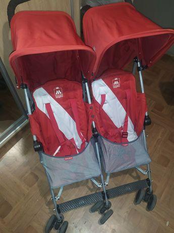 Прогулочная коляска для двойни Maclaren