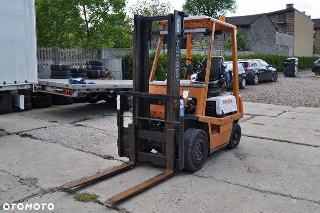 Toyota 42-4fg15  Wózek Widłowy Toyota 42 4fg15 Lpg 1500kg