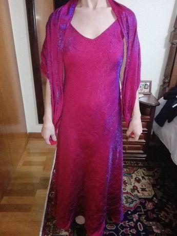 vestido de cerimónia, mais pochet