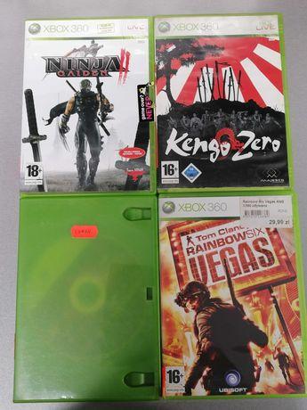 Gry na Xbox 360:Raibow six Vegas,Conan,Ninja Gaiden,Kenso Zero