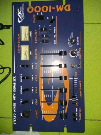 Stereo mixer c эквалайзером