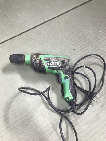 Wiertarka elektryczna Hitachi uszkodzona
