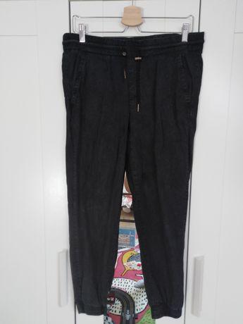 Spodnie Zara L na gumie