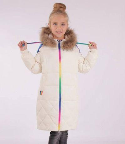 Пальто Радуга для девочки