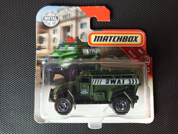 Autko, S.W.A.T. Truck od Matchbox. Tania wysyłka od 8zł.