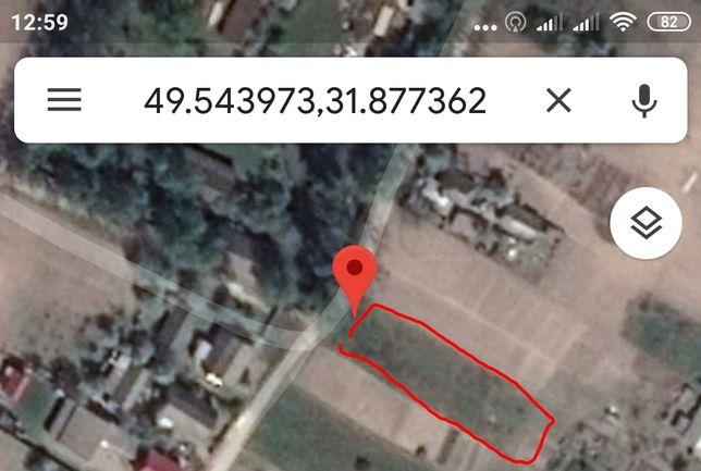 Продам земельный участок с.Сокирна, Черкасского р-на.