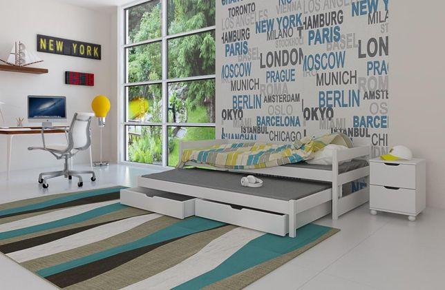 Nowe łóżko podwójne TONI!Materace gratis!