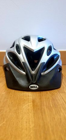 Capacetes bicicleta Bell (preto + prateado)