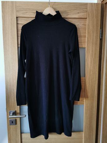 Czarna sukienka XL /ciążowa