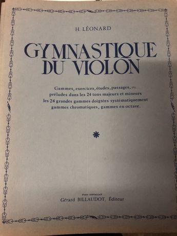 Gymnastique du Violin - H. Léonard