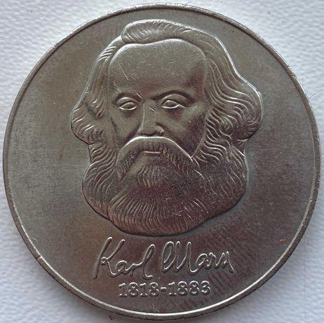 ГДР 20 марок 1983 год КАРЛ МАРКС!