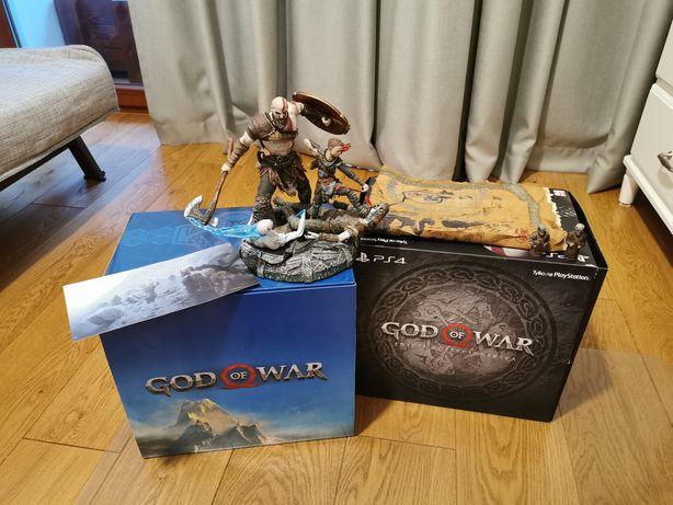 God of War Edycja Kolekcjonerska. Kratos figurka.