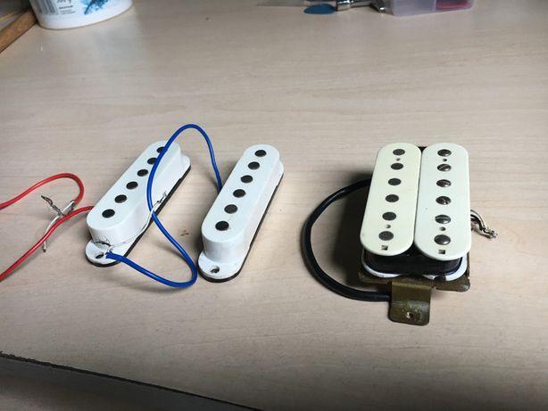 Pickupy HSS z Olp Silhouette - single, humbucker fender stratocaster