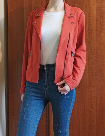 Новая кофта-косуха Gerry Weber M-L 40-38 оранжевая накидка ветровка