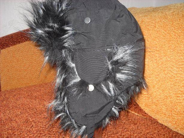 Ciepła zimowa czapka uszatka