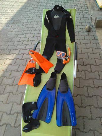 Fatos de surf/ bodyboard c/ todos os acessórios