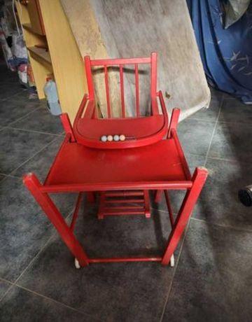 Cadeira papa de bebé