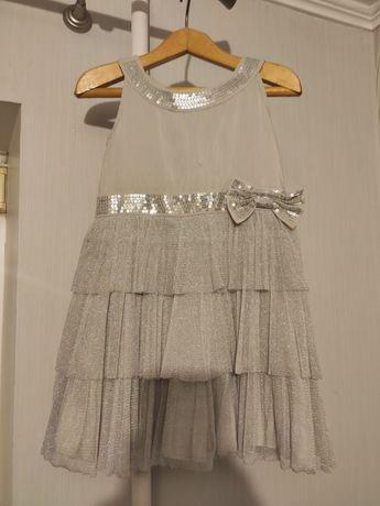 Платье нарядное праздник пайетки
