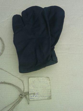 перчатки кирзовые двупалые