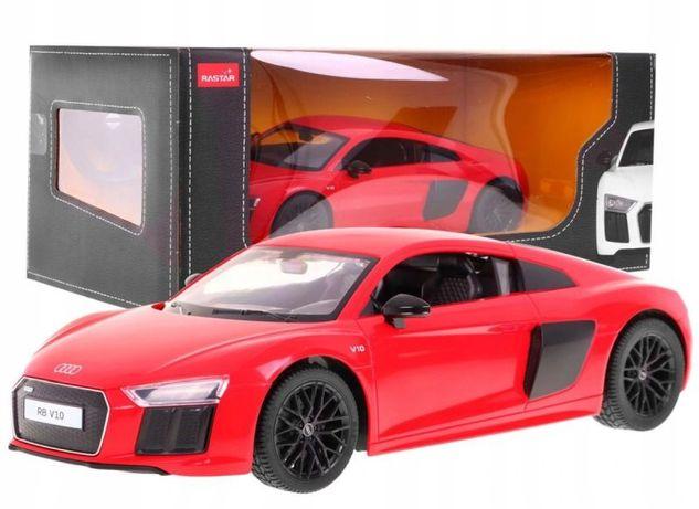 Autko R/c Audi R8 Pojazd + Pilot 1:14 Rastar 74400