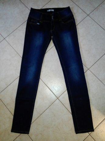spodnie damskie rurki rozmiar 40